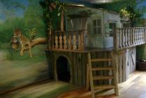 ... kamer sweetdream bed meisjesbed huisje huisje bed jungle kamer
