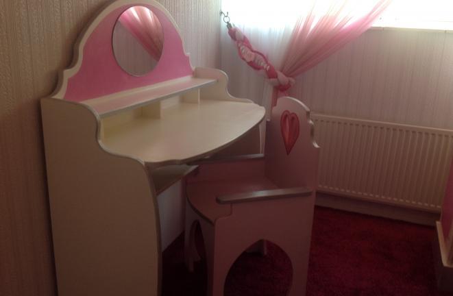 Allround deco themakamers prinses kasteel kamer - Deco kamer kantoor ...