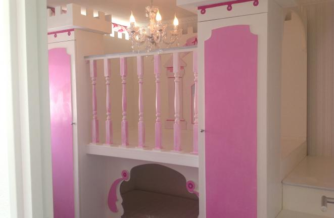 Allround deco themakamers prinses kasteel kamer - Deco kamer ...