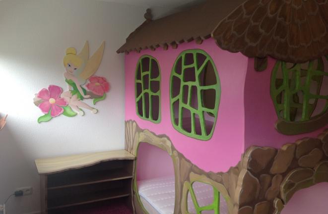 Allround deco kinderbedden boomhuisje meisjes bed - Deco meisje ...