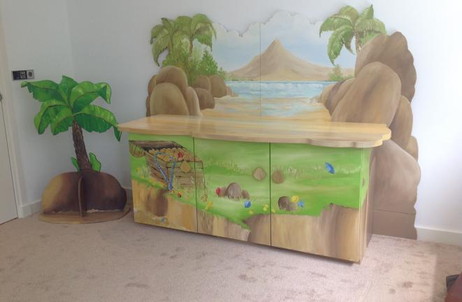 Allround deco kinderbedden baby piraat kamer - Deco kamer kind gemengd ...
