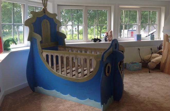 Allround deco kinderbedden baby piraat kamer - Ideeen deco kamer baby boy ...