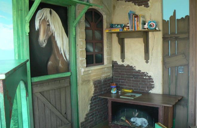Allround deco themakamers boerderij kamer - Deco gemengde kamer ...