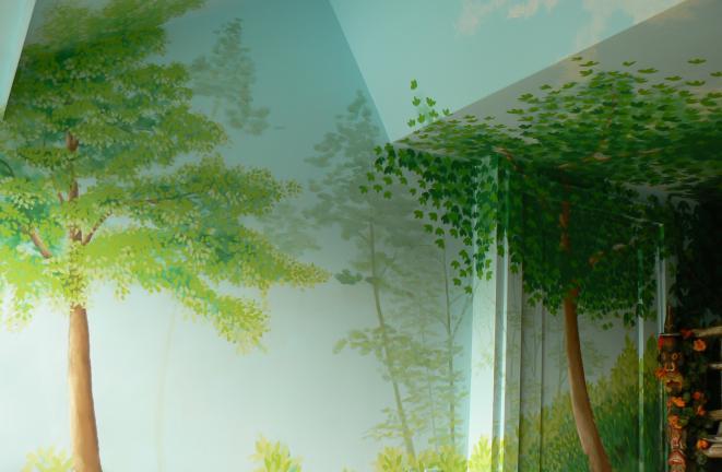 Allround deco themakamers: jungle kamer