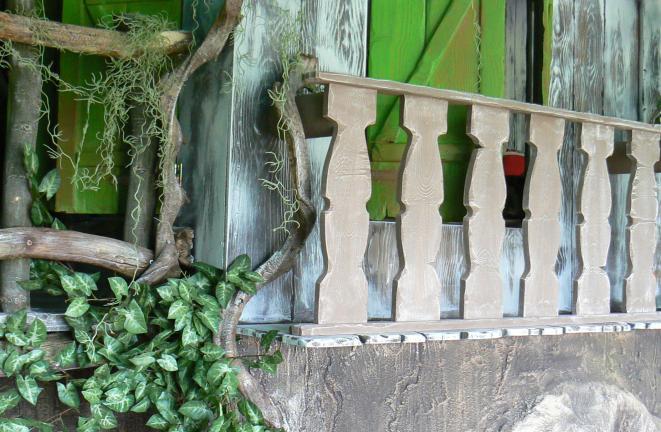 Allround deco themakamers jungle kamer for Deco volwassen kamers